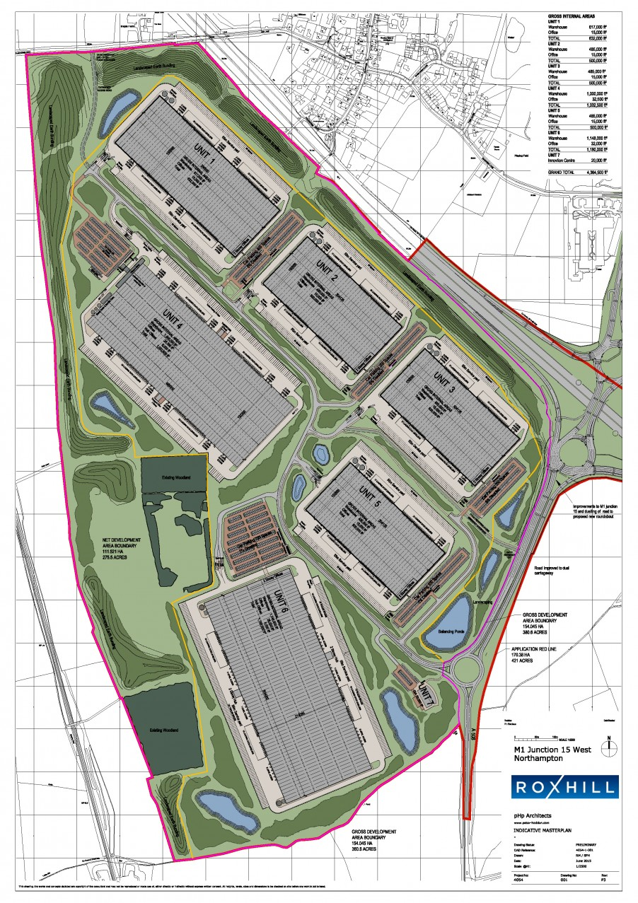 Masterplan - Roxhill